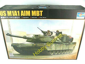 1-16-M1A1-ABRAMS-Main-Battle-Tank-Trumpeter-US-Army-Armored-Static-Kit-00926