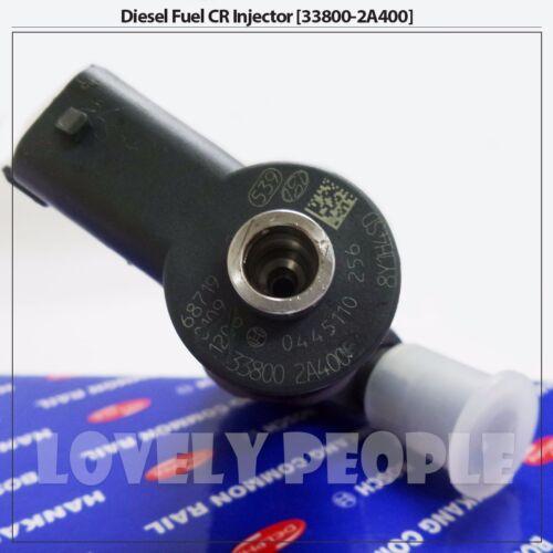Refurbished Diesel CRDI Fuel Injector 33800 2A400 for Hyundai Sonata EF Sonata