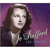 JO STAFFORD YES INDEED 4 CD BOXSET WW2 SWEETHEART GI JO 1930S 40S 50S
