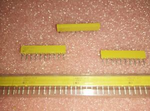 5x-BOURNS-4310R-101-221-RESISTOR-NETWORK-220-Ohm-2-1-25W-SIP-10PIN-T-H