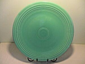 Fiestaware-Vintage-Green-15-Chop-Plate-Fiesta-Homer-Laughlin-HLC
