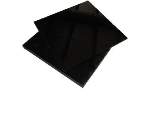 "Black EPDM Rubber Sheet 3//32/"" x 12/"" Wide x 12/"" Length"
