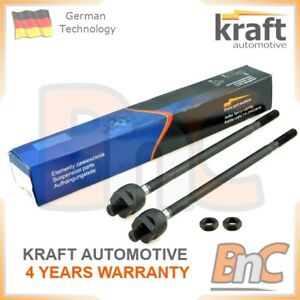 2x-GENUINE-KRAFT-FRONT-INNER-TIE-ROD-TRACK-AXLE-JOINT-SET-OPEL-VAUXHALL-SAAB