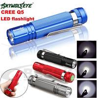 1200lm CREE Q5 LED Mini Flashlight Torch Light 14500/AA Torch Lamp Waterproof