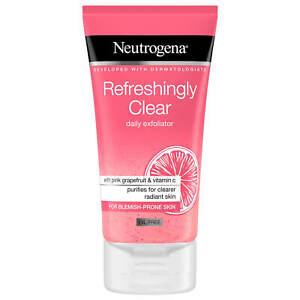 Neutrogena Refreshingly Clear Daily Exfoliator (Pink Grapefruit & VitamC)  150ml. | eBay