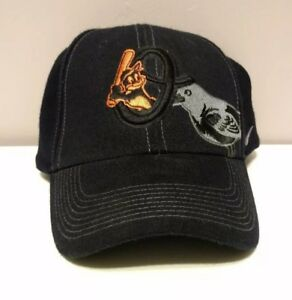 679557cc1a3 Black Orioles Baseball Cap Black New Era Size Unknown Wool Fitted
