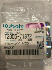 Kubota T2055 71872 Bracket For Glass In Cabs Oem Part New