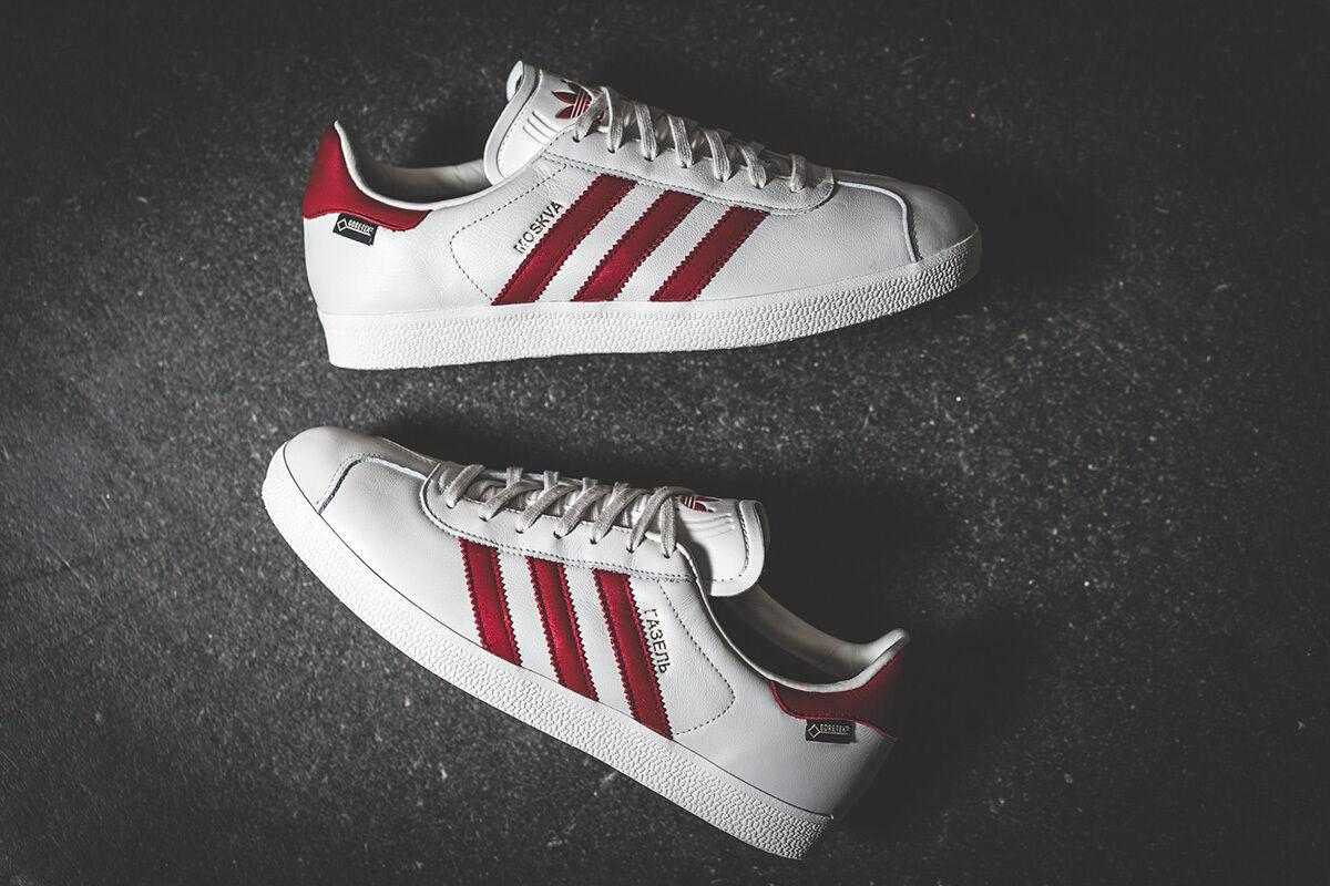 Adidas Gazelle Moskva Goretex blanco / tamaños) rojo s79981 (todos los tamaños) / Ciudad serie limitada GT d5b118
