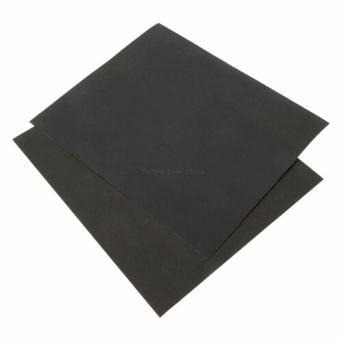 "Waterproof 2000 Grit 11/""*9/"" Abrasive Polishing Sand Paper Sheet Sandpaper 3Pcs"