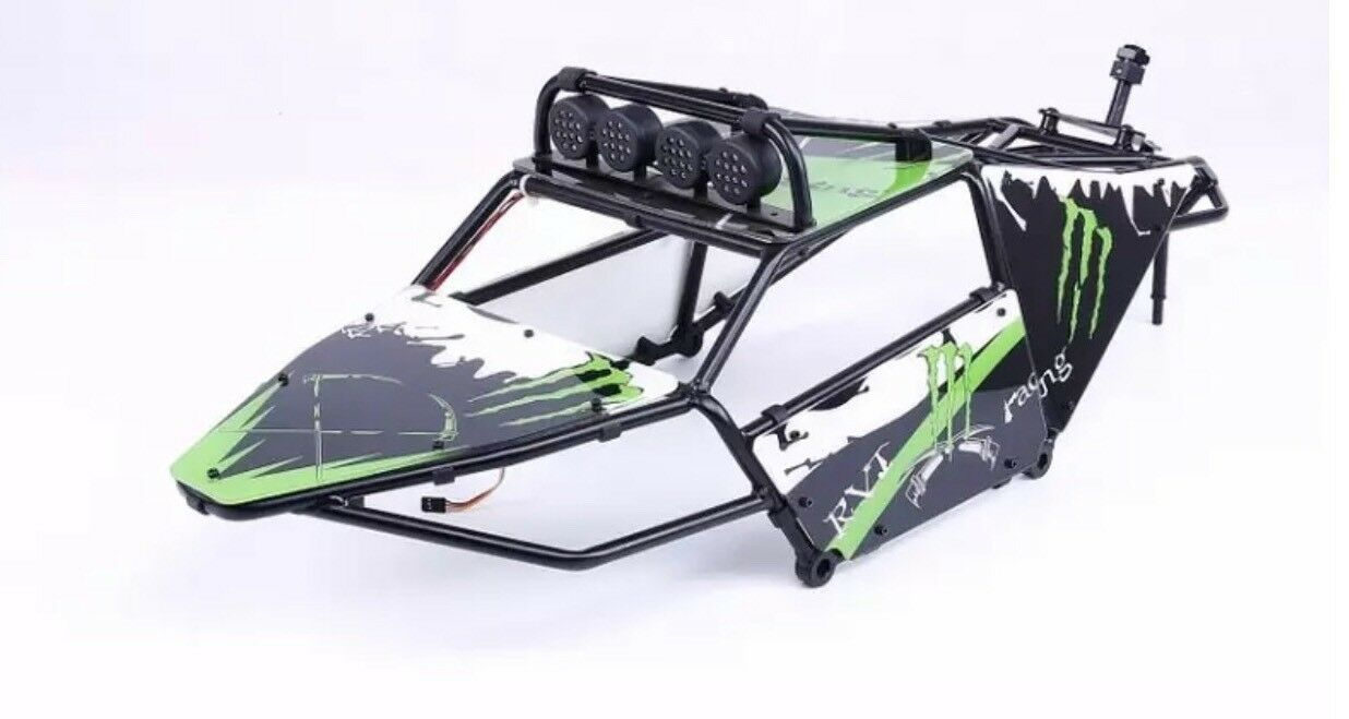 HPI BAJA ALLOY GT ROLL CAGE SET Green FOR HPI BAJA 5B,2.0,SS,KM,ROVAN,1 5
