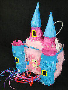 Incredible New Party Medieval Castle Pinata Ebay Funny Birthday Cards Online Overcheapnameinfo