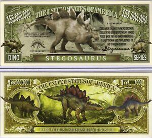 Tyrannosaurus Rex Dino Series Million Dollar Novelty Money