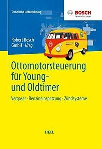 Otto-Motor-Steuerung-Vergaser-Einspritzung-Jetronic-Motronic-Zuendung-Buch-book