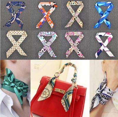 Schals Lady Ribbon Gebunden Die Tasche Griff Dekoration Ribbon Fashion Schal