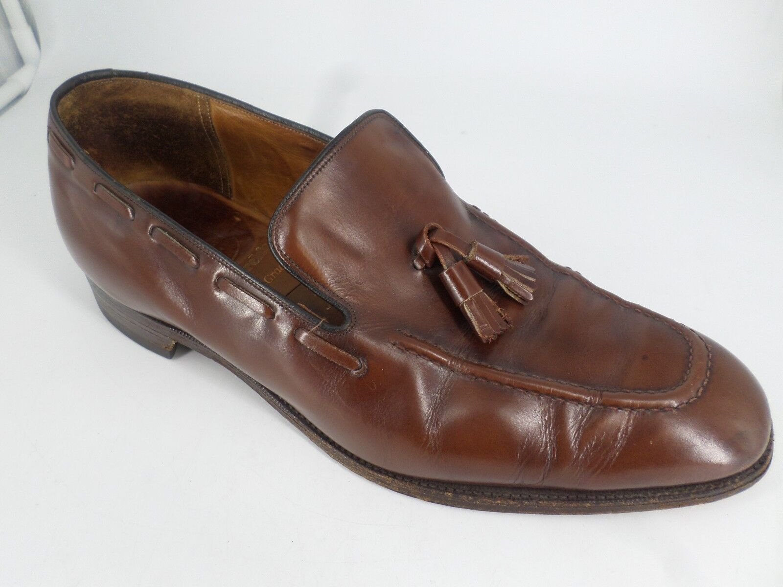 W.S.Foster & Son By Churchs Tassle Loafer Brown E Fit LN086 JJ 01