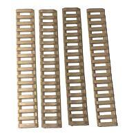 Rail Rubber Ladder Covers Rubber Mounts Rubber Rail Guard Flexible 4 Pack Tan