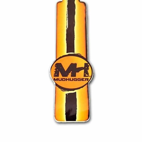 Mudhugger 2019 Front MTB Mudguard Decal Sticker FRX Race Lefty All Colours