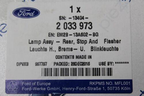Original faro trasero derecha interior Ford S-Max a partir del año de construcción 1//2015 2033973