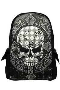 gothique dos tatouage ne Bbn763blk occulte cross perdue Cr rock croix ᄄᄂ punk sac rxhdCtsQ
