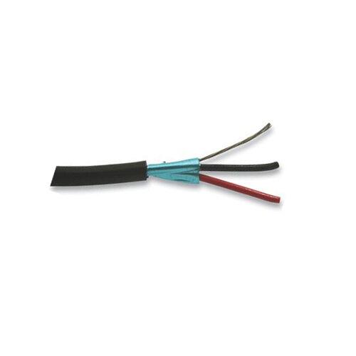 1000\' Belden 1503A 22 AWG 1P Foil Shielded PVC Jacket Black Single ...
