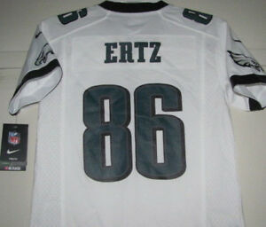ZACH ERTZ  86 PHILADELPHIA EAGLES YOUTH JERSEY M MEDIUM 10-12 NIKE ... 9d022f72f