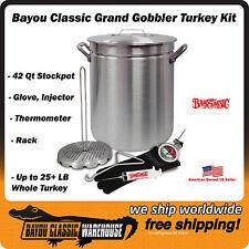 Item 3 Turkey Deep Fryer Kit Grand Gobbler 42 Quart Oversized For Up To 25 Lbs