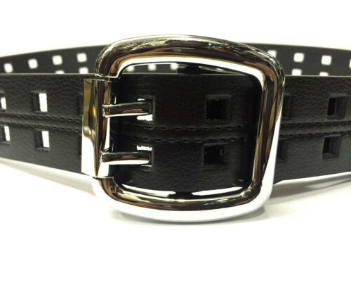 40 Mm Para Hombre Negro Pu Cuero Calidad Diseño Casual Wear Jeans cinturón yc001