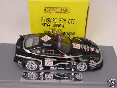 1  43 BBR GASOLINE FERRARRI 575 GTC SPA 2004 TEAM JMB