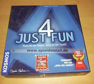 JUST-4-FUN-geniales-KOSMOS-Spiel-v-J-P-K-Grunau-RECHNEN-Sie-mit-Spass-TOP