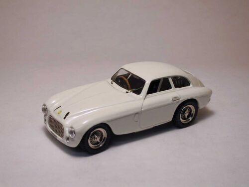 Ferrari 166 MM Coupe/' White 1950 1:43 Model 0002 ART-MODEL