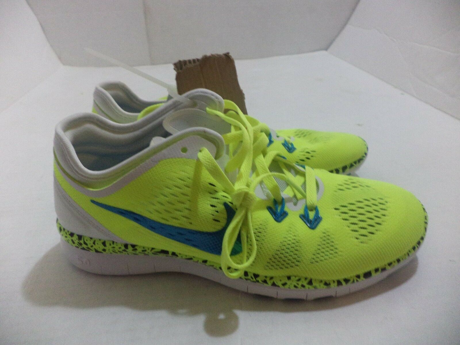 Nike Womens Free 5.0 TR Fit 5 Training Shoes Running Size 6-10 Color Volt & Blue