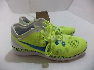Nike-Womens-Free-5-0-TR-Fit-5-Training-Shoes-Running-Size-6-10-Color-Volt-amp-Blue