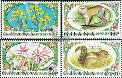 complete.issue. Unmounted Mint Never Hinged 1972 Flora And F Consumers First Industrious Ghana 468a-471a