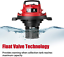 thumbnail 6 - Vacmaster Red Edition VOC508S 1101 Stainless Steel Wet Dry Shop Vacuum 5 Gallon
