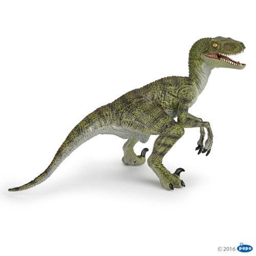 Papo 55058 Velociraptor VERDE 17 cm dinosauri