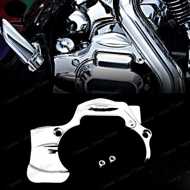Chrome Transmission Shroud Cover For Harley Touring 09 10 11 12 13 14 15 16 Part