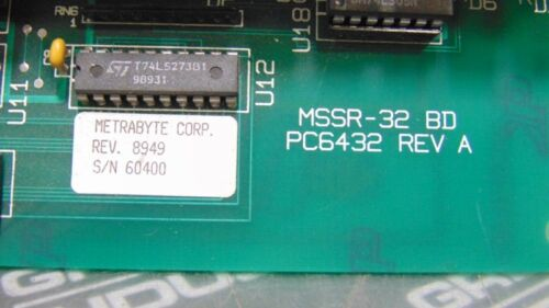 A Details about  /USED Keithley MSSR-32 BD PC6432 Relay Board Rev