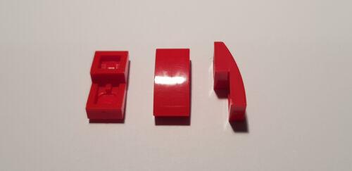 c01 LEGO ® 6 x 11477 toit Arc Pierre 2 x 1 rouge sans rien 6029946