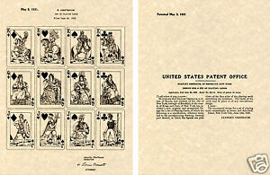 Vintage POPEYE the SAILOR US PATENT Art Print READY TO FRAME!! 1931 King