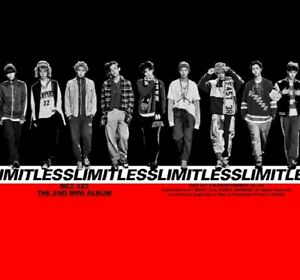 NCT-127-2nd-Mini-Album-NCT-127-LIMITLESS-CD-Photo-2p-Poster-Book-Sticker-Card