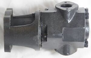 13 GPM Vegetable/Wast<wbr/>e Motor Oil Cast Iron Transfer Pump Head Steel Gears WVO