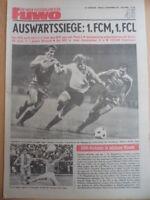 FUWO 45- 9.11. 1976 * FCK-BFC 2:0 Jena-HFC 4:0 Zwickau-Aue 3:1 Dresden-Riesa 4:0