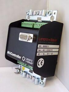 Gel-8080S11-Minicontroller-Lenord-Bauer