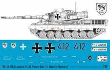 143 Peddinghaus-Decals 1//16 3754 Leopard A4 Panz Bat