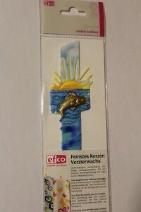 45 mm Verzierwachs despierta decoración cruz pez sol multicolor 140