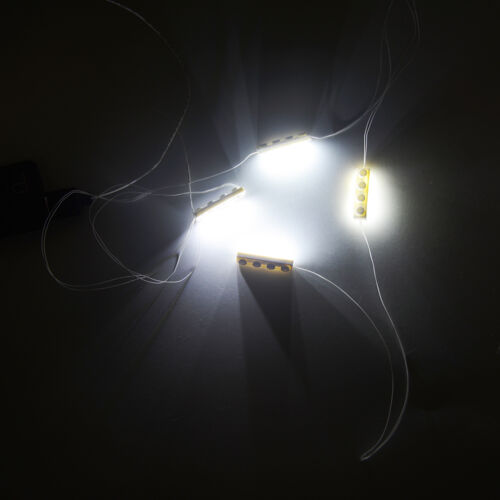Warm White light Building Block Gift USB LED Light BricK Kit Fit To LEGO 1X4x3
