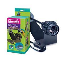 Arcadia - Vogelkäfig-Lampenfassung (mit Schrauben) - E27 Fassung für Bird Lamp