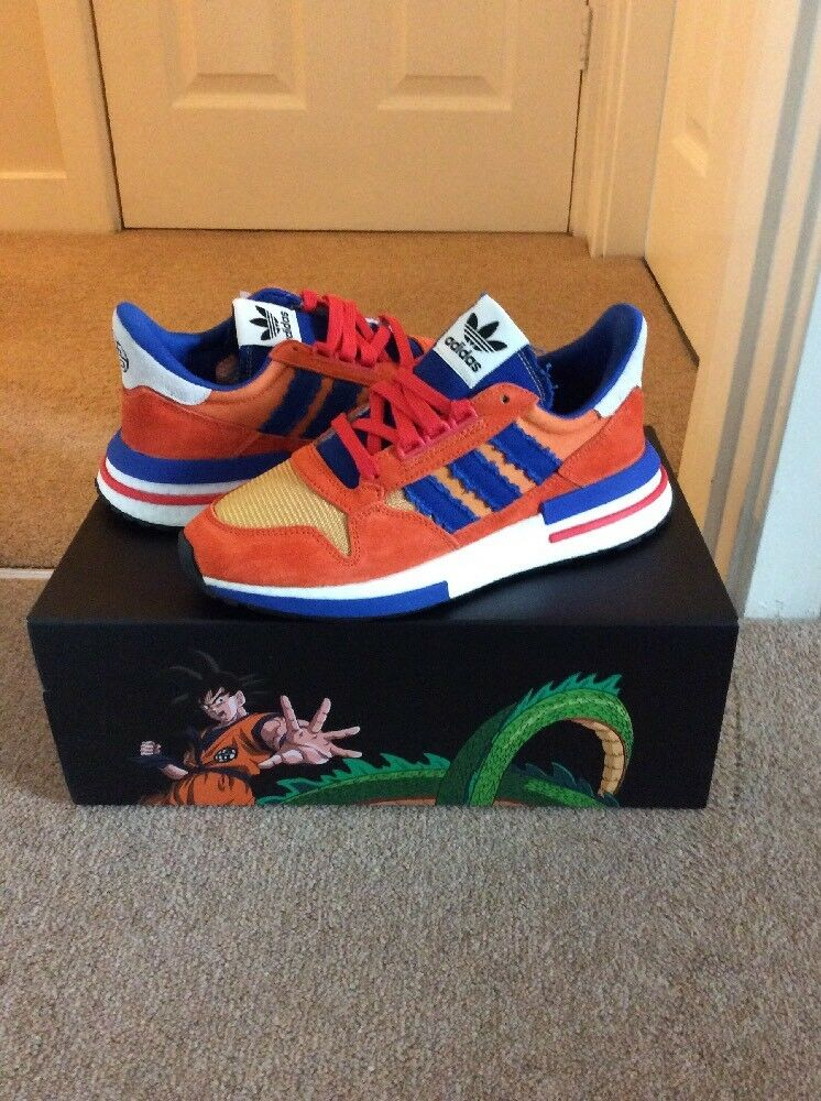 Adidas ZX 500 x dragonball RESTOMOD... Goku... UK. 7... USA. 7.5...