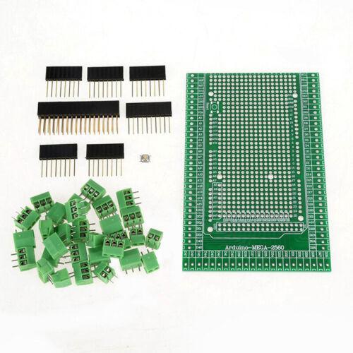 MEGA-2560 R31-Prototype Screw Terminal Block Shield Board Kit For Arduino X 1