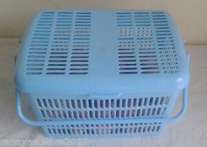 Multipurpose Plastic basket - lid & handle for house items, baby essentials etc.